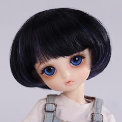 1/6 cutey purple short wig