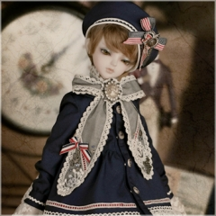 Item name: 1/4 blue navy uniform
