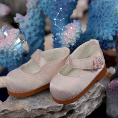 1/6 baby doll loli shoes--Light pink