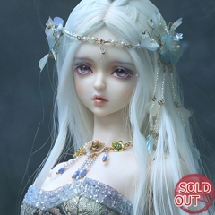 Lesser Snow -- Mermaid (with face make up and body make up)