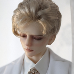 1/3 Wei Jie short blond wig