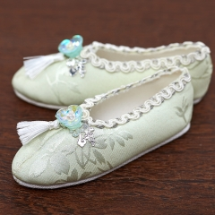 1/3 Old girl tassel ancient style shoes